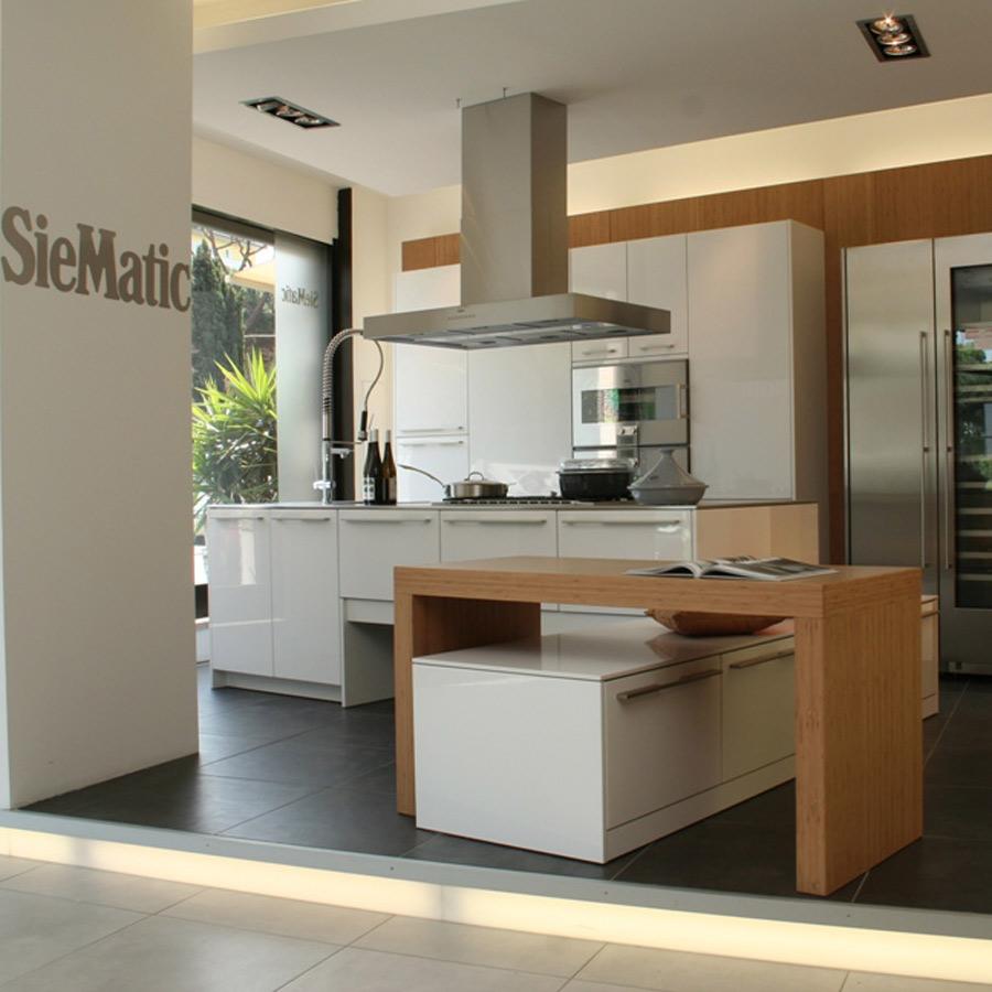 Siematic cucina laccata bianca lucida con 50 di sconto - Cucina bianca lucida ...